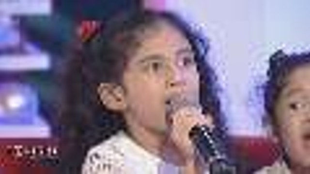 "Julia Concio sings ""Somewhere Over the Rainbow"" for Boy Abunda"