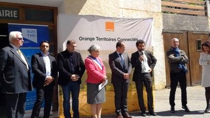 Discours Benoit Moreau, directeur général SUD THD, Orpierre