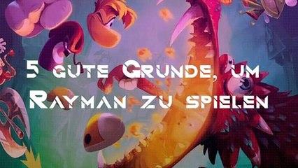 5 gute Gründe, um Rayman zu spielen