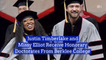 Justin Timberlake And Missy Elliot Get Honorary Doctorates