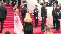 Montée des marches à l'ouverture du Festival de Cannes