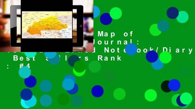 Full E-book  Map of Burkina Faso Journal: 150 Page Lined Notebook/Diary  Best Sellers Rank : #4