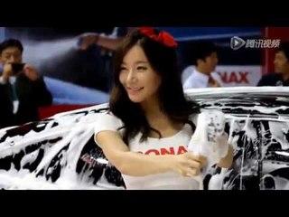 车展现场诱惑洗车 Sexy Carwash