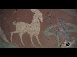 佛祖前世九色鹿,为什么在敦煌壁画上是白色的?古印度高超手法(发现中国导视)