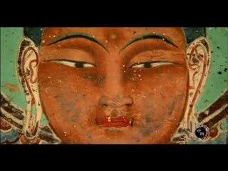 莫高窟内1500年前的壁画,讲述佛祖修行经历,前世竟是一头九色鹿(发现中国导视)