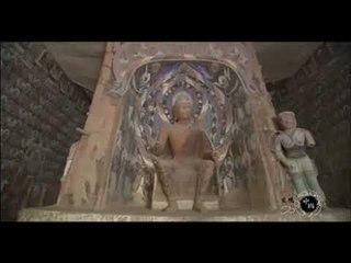 """敦煌佛祖神像背后,壁画上人们都祭拜一头""""鹿"""",到底是什么来历(发现中国导视)"""