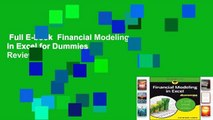 Full E-book  Financial Modeling in Excel for Dummies  Review