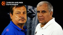 Coaches head-to-head: Ataman vs Obradovic