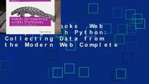 About For Books Web Scraping with Python: Collecting More