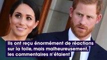 Meghan Markle et le Prince Harry victimes d'attaques racistes après la naissance du royal baby Archie