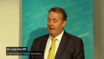 Fox:Britain is first in Europe for foreign direct investment