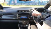 Nissan Leaf Tekna 40kWh Test Drive & Road Test Review @CarLease UK - Start/ Stop/ Town/ City Driving