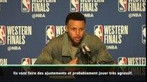 """Play-offs - Curry : """"Poursuivre sur notre lancée"""""""
