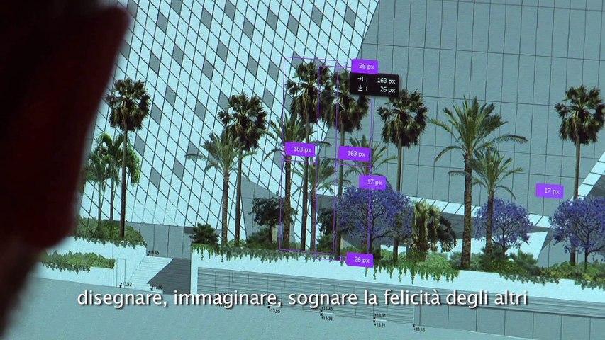 video dell'architetto paesaggista francese Jean Mus, sul tema dei giardini.