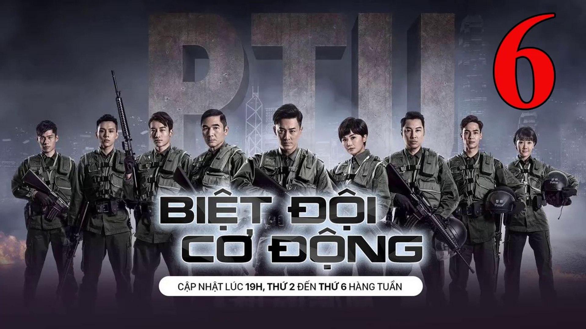 Phim Hành Động TVB: Biệt Đội Cơ Động Tập 6 Vietsub | 机动部队 Police Tactical Unit Ep.6  HD 2019