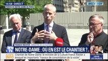 """Le ministre de la Culture juge l'arrêt de la collecte de dons pour Notre-Dame """"beaucoup trop prématurée"""""""