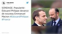 Popularité: Édouard Philippe devance de nouveau Emmanuel Macron