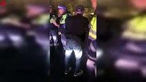 Les policiers n'ont même pas besoin de faire un test d'alcoolémie à cet homme