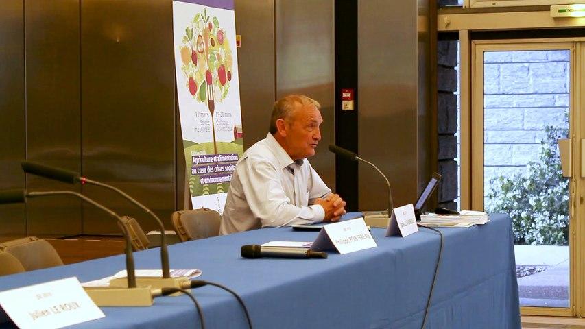 Journées Scientifiques de l'Environnement (JSE) 2019 – 2e jour de colloque scientifique : intervention de Philippe Pointereau