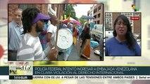 Viola EEUU derecho internacional al irrumpir en embajada de Venezuela