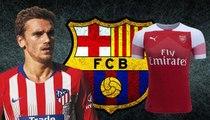 يورو بيبرز: برشلونة يفضّل نجم ارسنال على غريزمان