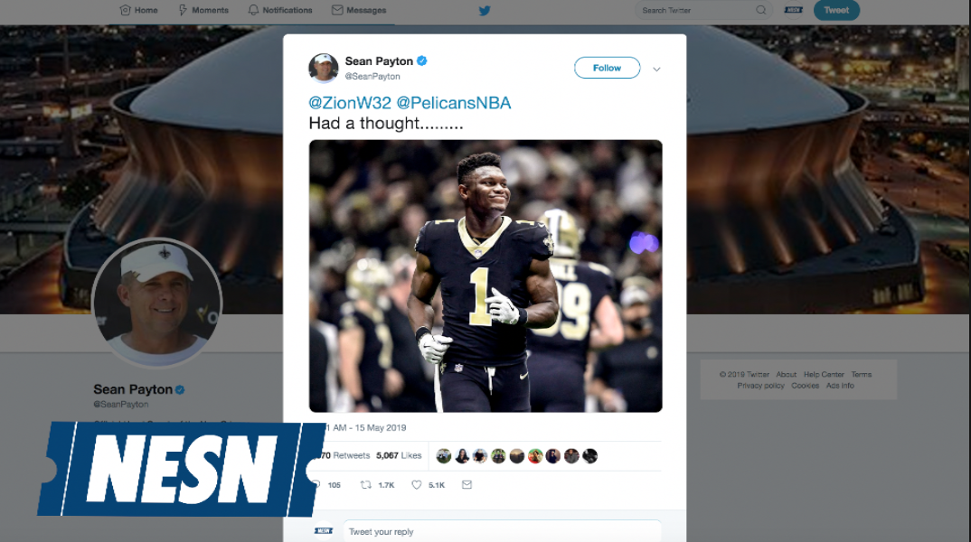 Zion Williamson To The Saints?