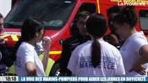 Le 18:18 - Ces jeunes Marseillais qui sortent de la galère grâce aux marins-pompiers