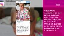 """Laurence Boccolini hospitalisée : elle confie qu'on lui a """"sauvé la vie"""""""