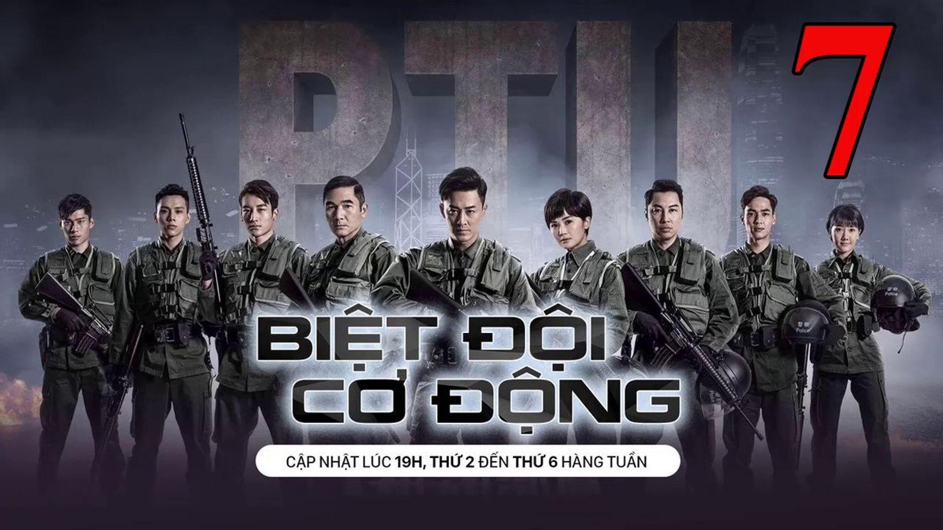 Phim Hành Động TVB: Biệt Đội Cơ Động Tập 7 Vietsub | 机动部队 Police Tactical Unit Ep.7  HD 2019