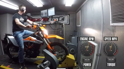 How Much Power Does The 2019 KTM 690 Enduro R Make?