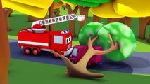 Car Patrol in Car City - The Car Patrol: fire truck, police car and the Mystery of the Night