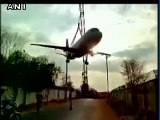Le transport de cet avion A320 tourne mal