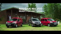 The new Nissan NV250 compact van Trailer