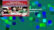 About For Books  Teaching Students with Learning Problems  Best Sellers Rank : #1