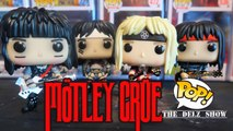 MOTLEY CRUE FUNKO POP TOMMY LEE,VINCE NEIL,NIKKI SIXX & MICK MARS DETAILED REVIEW UNBOXING THE DIRT MOVIE