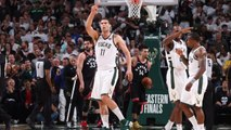 Bucks, Behind Monster Fourth Quarter, Defeat Raptors in Game 1