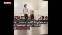 Le chanteur des Rolling Stones danse, un mois seulement après son opération du coeur