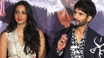 Shahid Kapoor shuts down reporter for asking about kissing scene with Kiara Advani | FilmiBeat
