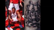 Raptors fan gets tattoo of Kawhi Leonard Game 7 Iconic Game Winner Jumpshot that ended the Sixers vs Raptors series 5/16/19