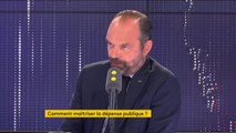"""Fonctionnaires : """"Nous augmentons les effectifs parce que nous considérons qu'il y a des priorités, qu'il y a des urgences"""", déclare Edouard Philippe"""