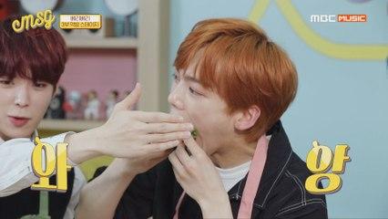 [Idol talkTV MSG EP.06] 민찬이의 소울푸드 쌈 정식! 베리베리 민찬의 한입만~↗