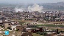 القوات السورية تكثف ضرباتها على خان شيخون