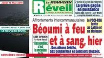 Le Titrologue du 16 Mai 2019 : Affrontements intercommunautaires, Béoumi à feu et à sang hier