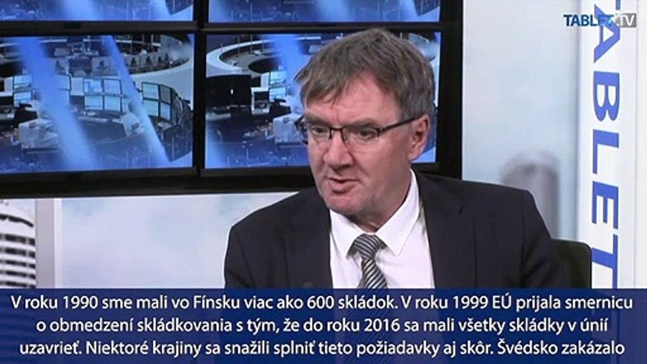 P. Kling: Slovensku pomôžu splniť požiadavky EÚ centrá, kde sa zhodnocuje odpad