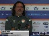 (J34) QRM - Laval, avant-match avec P.Braud
