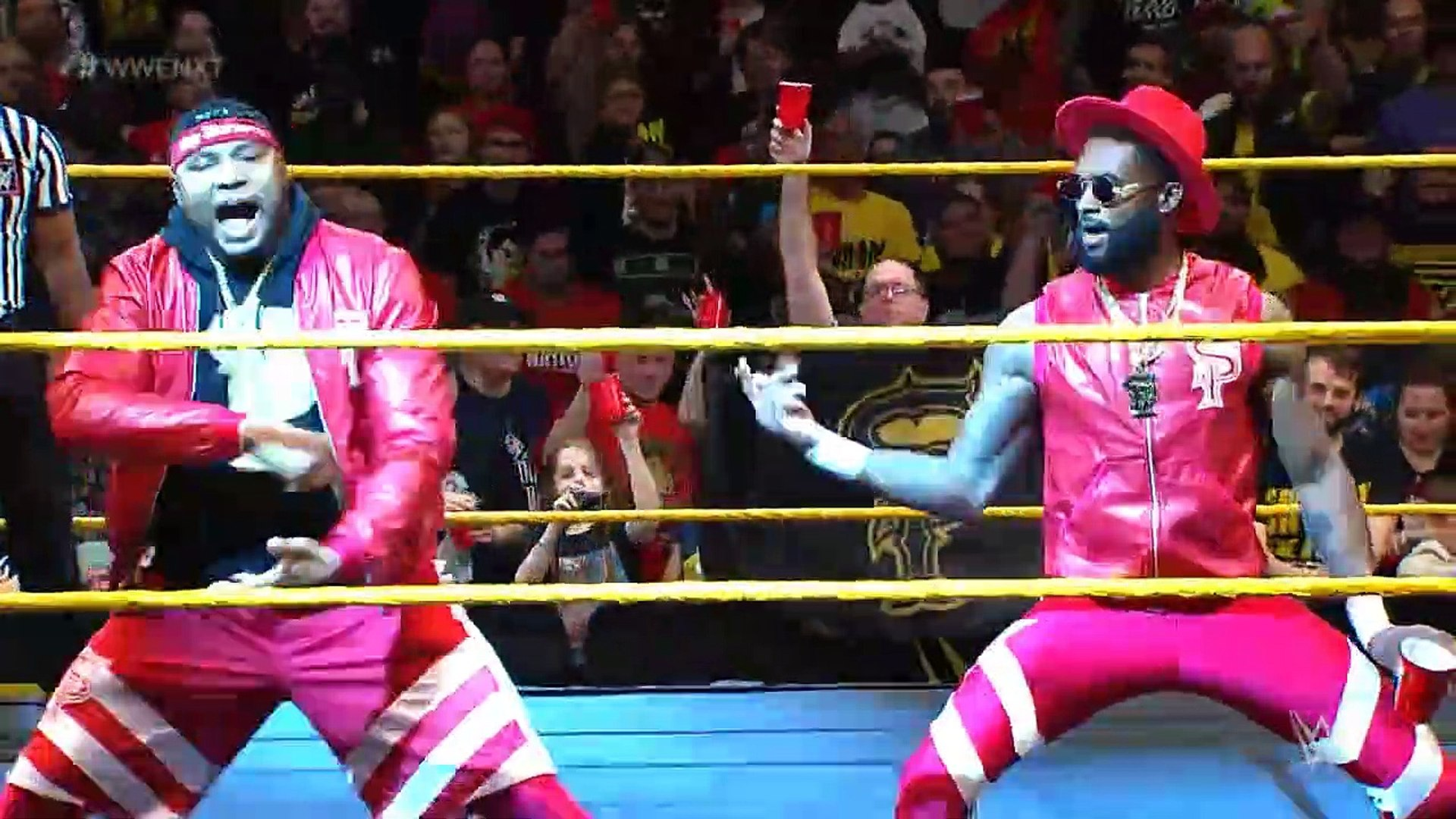 NXT: The Viking Raiders vs The Street Profits - NXT Tag Team Championships