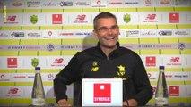 Cyril Moine avant Montpellier HSC - FC Nantes
