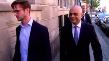 Sajid Javid refuses to comment on Tory leadership bid