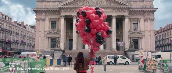Campagne européenne de sensibilisation à l'insuffisance cardiaque - Heart failure awareness campaign in Belgium 2019 (French)