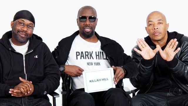 Wu-Tang Clan Teaches You Wu-Tang Slang